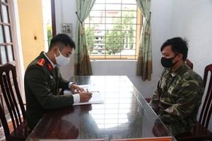 Nam Định: Phao tin có người mắc dịch, bị phạt 10 triệu đồng