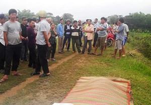 Phát hiện xác một phụ nữ trôi trên kênh chính Bắc Phú Ninh