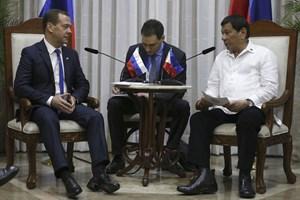 Philippines, Nga mở rộng hợp tác thương mại, quân sự