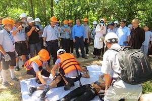 Phó Chủ tịch Ngô Sách Thực khảo sát các cơ sở tôn giáo tham gia bảo vệ môi trường