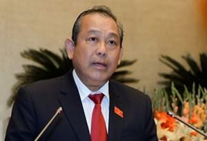 Phó Thủ tướng Thường trực dự Hội nghị Tương lai châu Á và thăm Nhật Bản