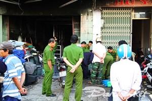 Phú Yên: 'Bà hỏa' thiêu rụi tiệm sửa chữa điện tử trong đêm