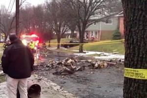 Máy bay lao vào nhà dân tại Mỹ, khiến 1 người thiệt mạng
