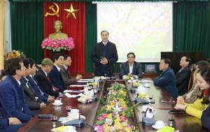 Phó Chủ tịch Phùng Khánh Tài gặp mặt đầu Xuân Canh Tý năm 2020 tại Phú Thọ