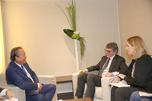 Phó Thủ tướng Thường trực hội kiến Chủ tịch Nghị viện châu Âu, Thủ tướng Croatia