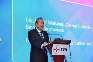 Phó Thủ tướng Thường trực Trương Hòa Bình dự lễ khánh thành Nhiệt điện Vĩnh Tân 4