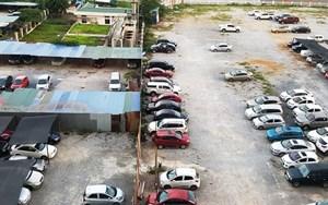 Quận Hoàng Mai, Hà Nội: Giải tỏa bãi xe không phép để xây trường học