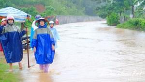 Quảng Bình: Nhiều địa phương ven sông bị ngập sâu