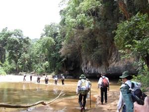 Quảng Bình thử nghiệm nhiều tour du lịch hang động mới