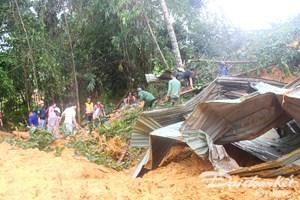 Quảng  Nam: Đã tìm thấy 3 thi thể trong vụ sạt lở núi ở Bắc Trà My