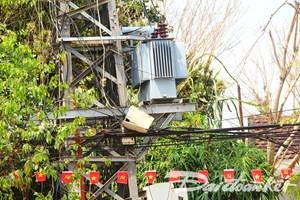 Quảng Nam: Khắc phục sự cố rơi máy biến áp xuống đường