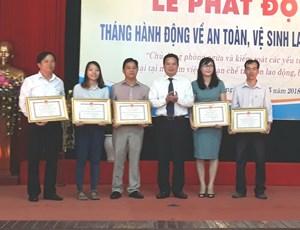 Quảng Nam phát động Tháng hành động an toàn, vệ sinh lao động