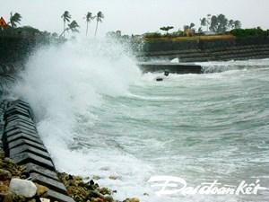 Quảng Ngãi: Gió mạnh, tuyến giao thông đảo Lý Sơn - Sa Kỳ ngừng hoạt động