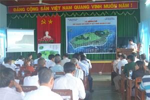 Quảng Ngãi: Lễ công bố quy hoạch xây dựng tỷ lệ 1/2000 đảo Lý Sơn
