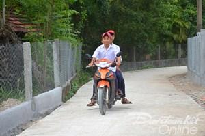 Quảng Ngãi: Tăng cường bảo đảm an toàn giao thông nông thôn