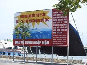Quảng Ninh:Ngăn chặn khai thác thuỷ sản mang tính tận diệt