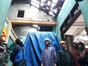 Quảng Trị ngập nặng do mưa lớn