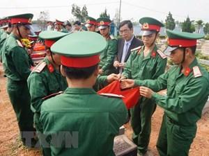 Quảng Trị:Tìm thấy 5 hài cốt liệt sỹ tại huyện Hướng Hóa