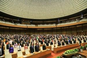 Quốc hội bế mạc kỳ họp thứ 5, thông qua Nghị quyết kỳ họp