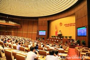 Quốc hội biểu quyết điều chỉnh thời gian thông qua dự án Luật đặc khu