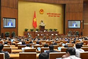 Ông Hoàng Thanh Tùng được bầu giữ chức Chủ nhiệm Ủy ban Pháp luật