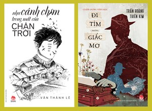 Ra mắt 2 tập chân dung văn học của Trần Hoàng Thiên Kim và Văn Thành Lê