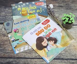 Ra mắt 3 cuốn sách thiếu nhi trong dịp hè