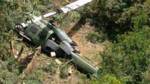 Rơi trực thăng quân sự ở Colombia làm 10 người chết