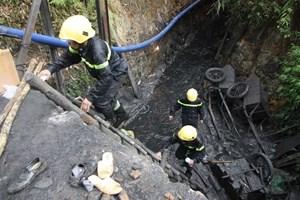 Sập hầm lò tại mỏ than, 2 công nhân bị vùi lấp