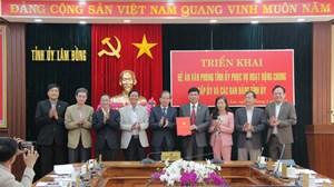Sáp nhập văn phòng tất cả các ban đảng về Văn phòng Tỉnh ủy Lâm Đồng