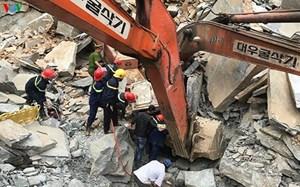 Sạt lở tại mỏ đá ở TP Đà Nẵng, một lái xe tử vong