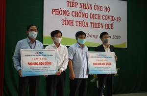 Thừa Thiên - Huế: Tiếp nhận 1 tỷ ủng hộ phòng, chống dịch Covid-19