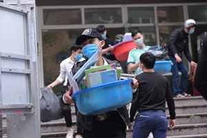 Bộ GDĐT đề nghị trường đại học 'cho mượn' KTX làm nơi chống dịch