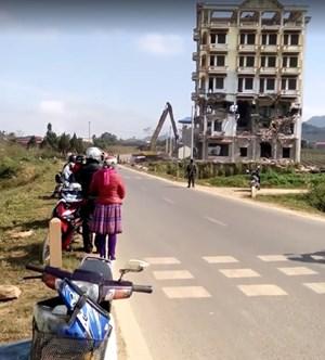 Sơn La:Tòa 'Keangnam Tây Bắc' bị phá hủy vì được xây bằng tiền bất chính