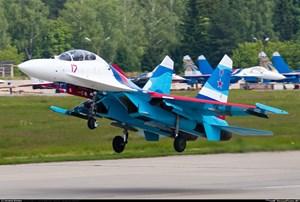 Máy bay chiến đấu Su-27 của quân đội Nga gặp nạn ở Biển Đen
