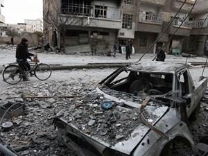 Syria: Hàng cứu trợ quốc tế bắt đầu tới Đông Ghouta