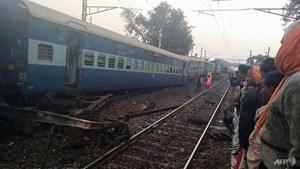 Tai nạn đường sắt ở Ấn Độ, nhiều người thương vong