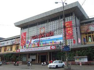 Tái thiết ga Hà Nội