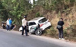 Lâm Đồng: Bắt tạm giam lái xe gây tai nạn trên đèo Mimosa