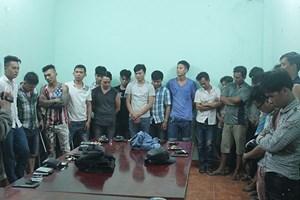 Tạm giữ 38 đối tượng trong vụ hỗn chiến đêm 30 Tết ở Đồng Nai