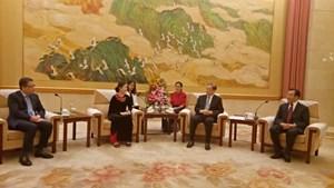 Tăng cường giao lưu, hợp tác giữa MTTQ Việt Nam và Chính hiệp Trung Quốc