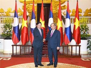 Tăng cường hợp tác chặt chẽ Việt Nam - Lào trên các lĩnh vực