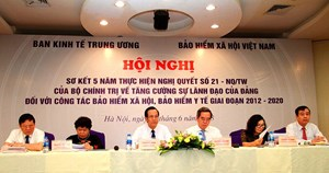 Tăng cường sự lãnh đạo của Đảng đối với công tác BHXH, BHYT