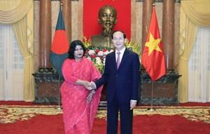 Tăng cường thúc đẩy quan hệ hợp tác nhiều mặt với Bangladesh