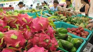 Tăng mạnh lượng trái cây xuất qua cửa khẩu