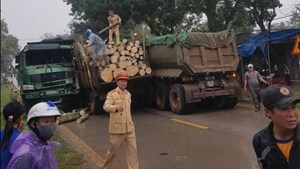 Quảng Trị: Tai nạn  giao thông liên hoàn