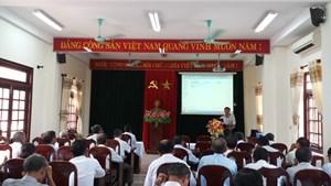 Tập huấn công tác phòng, chống HIV/AIDS cho cán bộ Mặt trận cơ sở