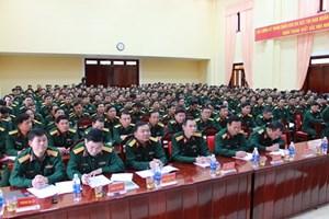 Tập huấn công tác quốc phòng, quân sự 2018
