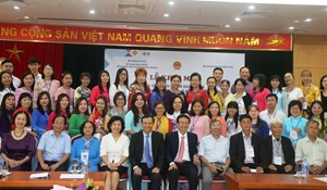 80 học viên dự khóa tập huấn giảng dạy tiếng Việt cho giáo viên ở nước ngoài