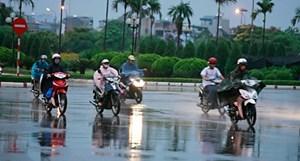 Tây Nguyên và Nam Bộ mưa dông